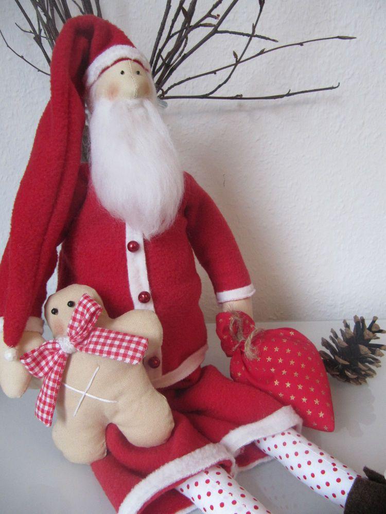 Weihnachtsmann, Nikolaus, Santa Klaus, Weinachten, Tilda Engel ...