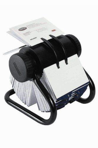 Rolodex 67247 Rolodex Open Rotary Business Card File 300 Sleeve 600 Card Cap 24 Guides Bk List Price 57 49 Price 31 Rolodex Card Files Business Cards