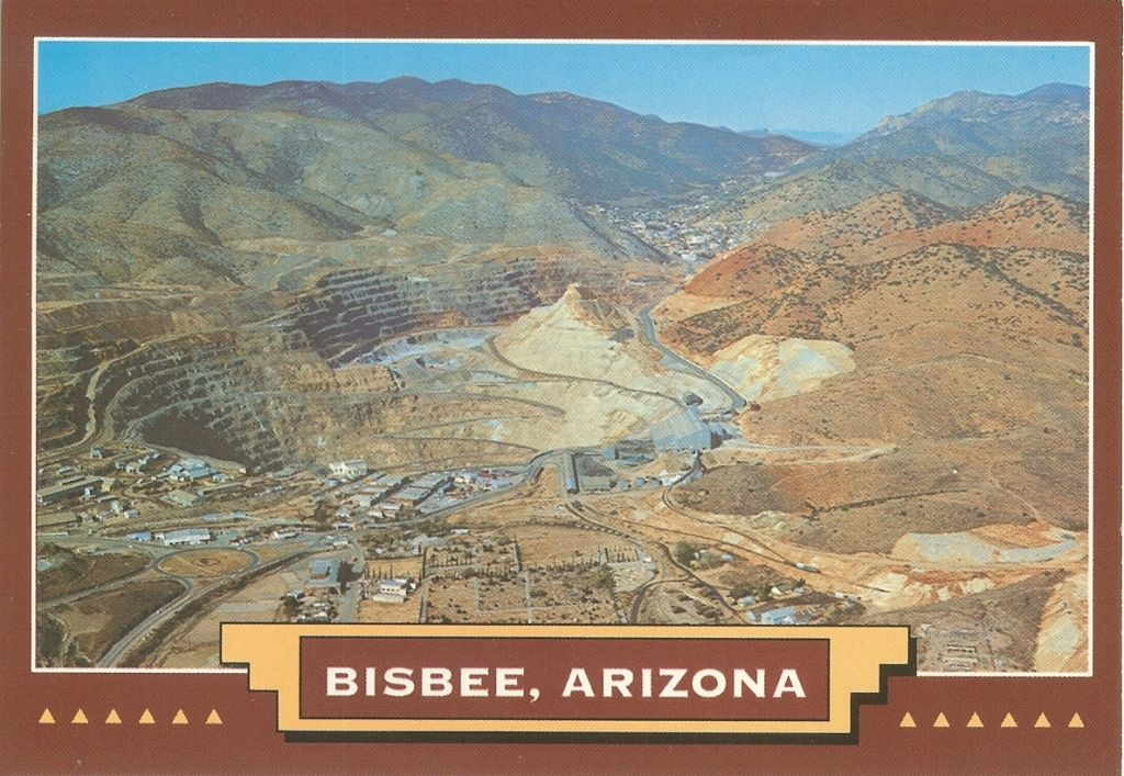PK0153. Bisbee, Arizona. Lavender OpenPit Copper Mining