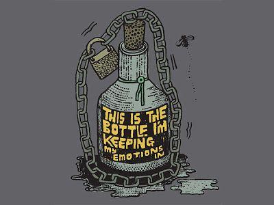 Bottled Up Emotions Quotes   Bottling up emotions, Bottle ...