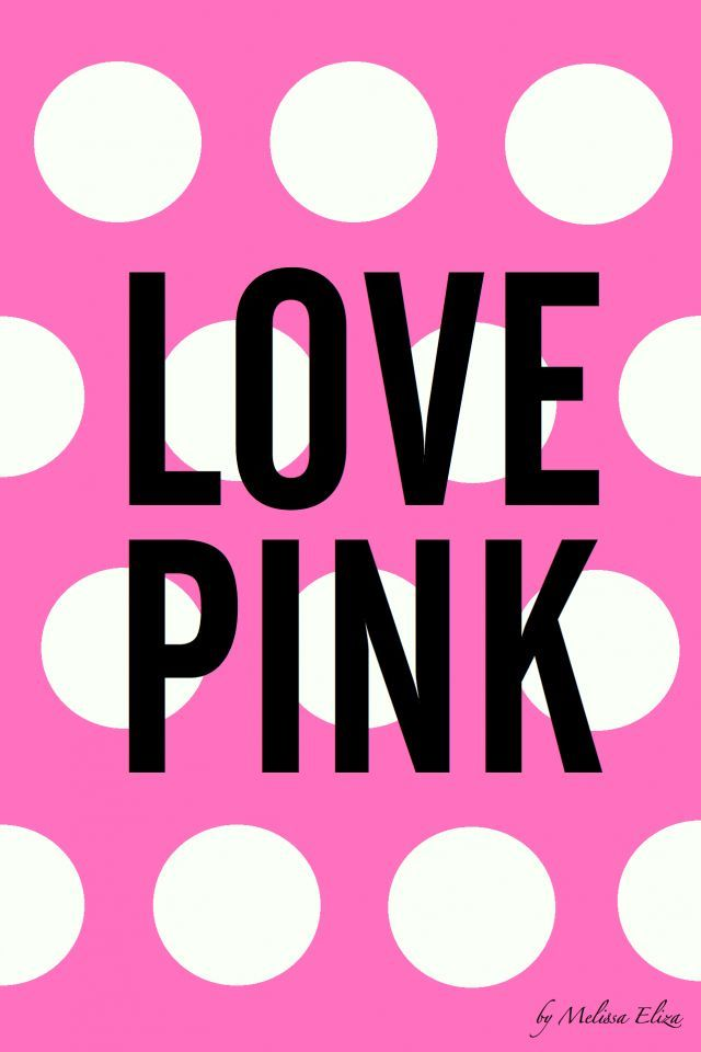Victoria Secret Love Pink Background Love Pink - iPhone ...