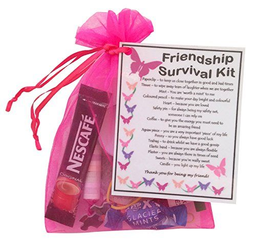 18th Birthday Survival Kit Birthday Gift Novelty Present: Friendship/ Best Friend / BFF Survival Kit Gift (Great