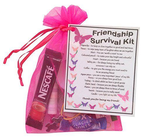 Friendship Best Friend Bff Survival Kit Gift Great