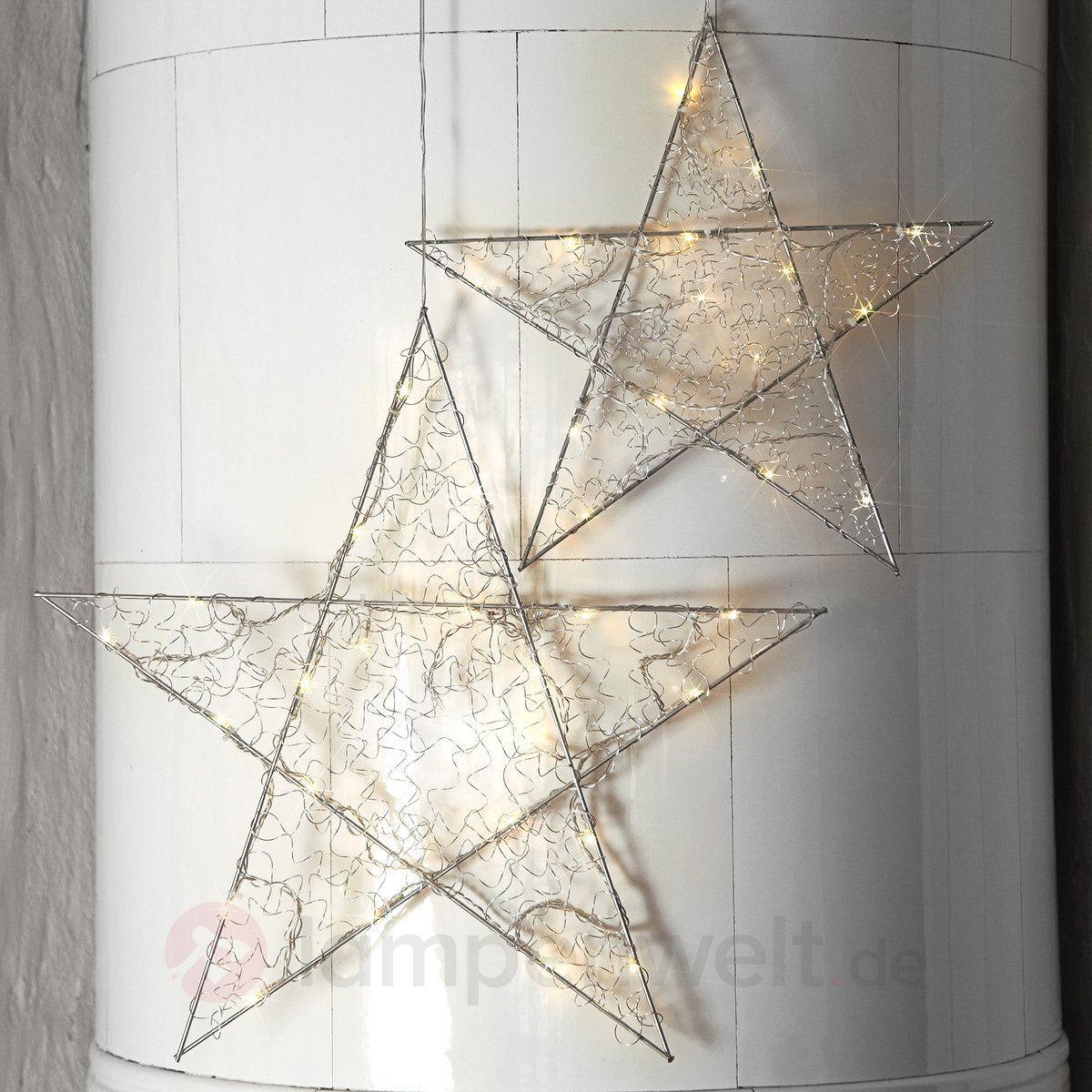 Kleine LED-Dekorationsleuchte Loop Star Batterie sicher & bequem ...
