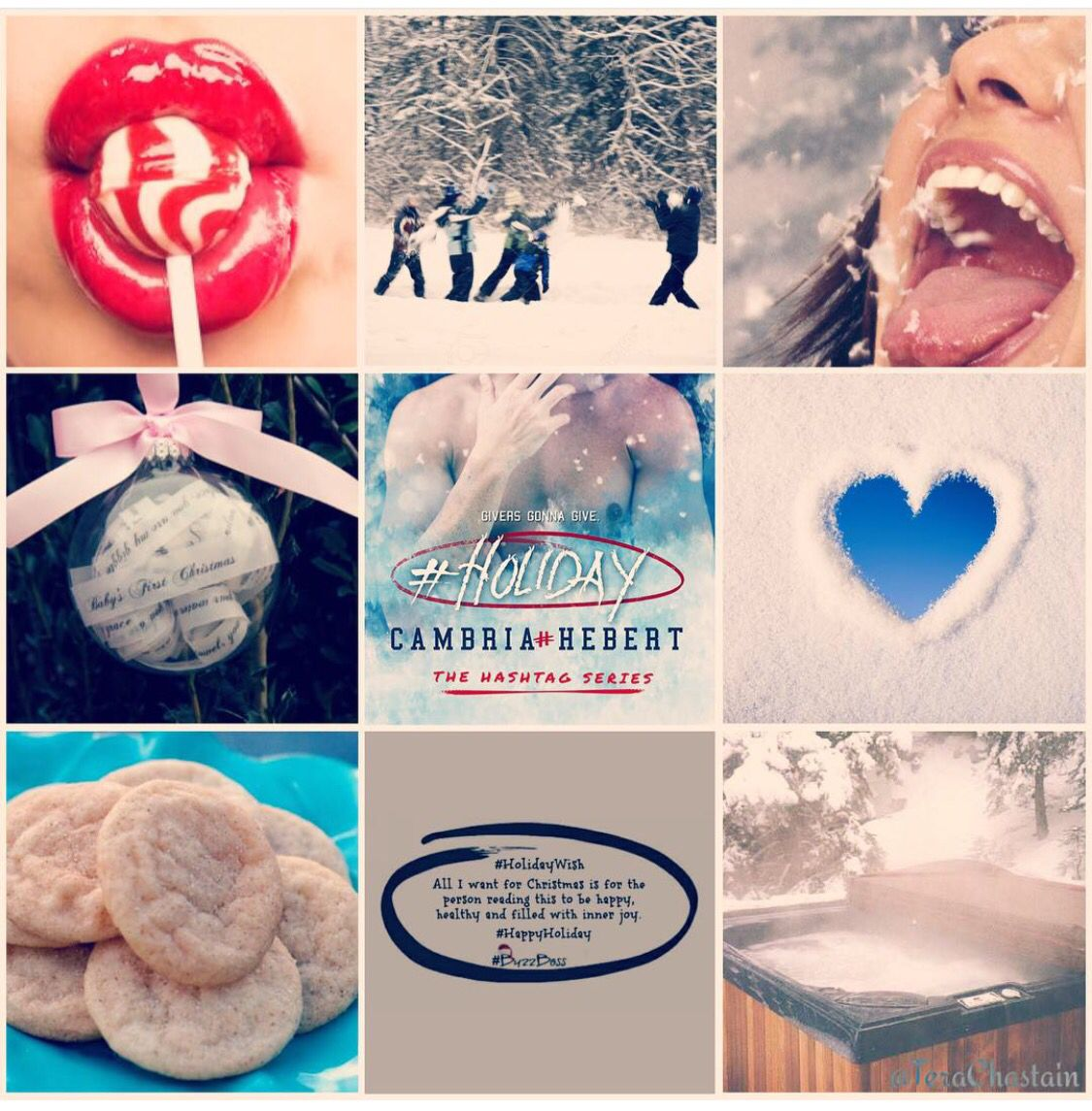 Holiday Hashtag Series By Cambria Hebert