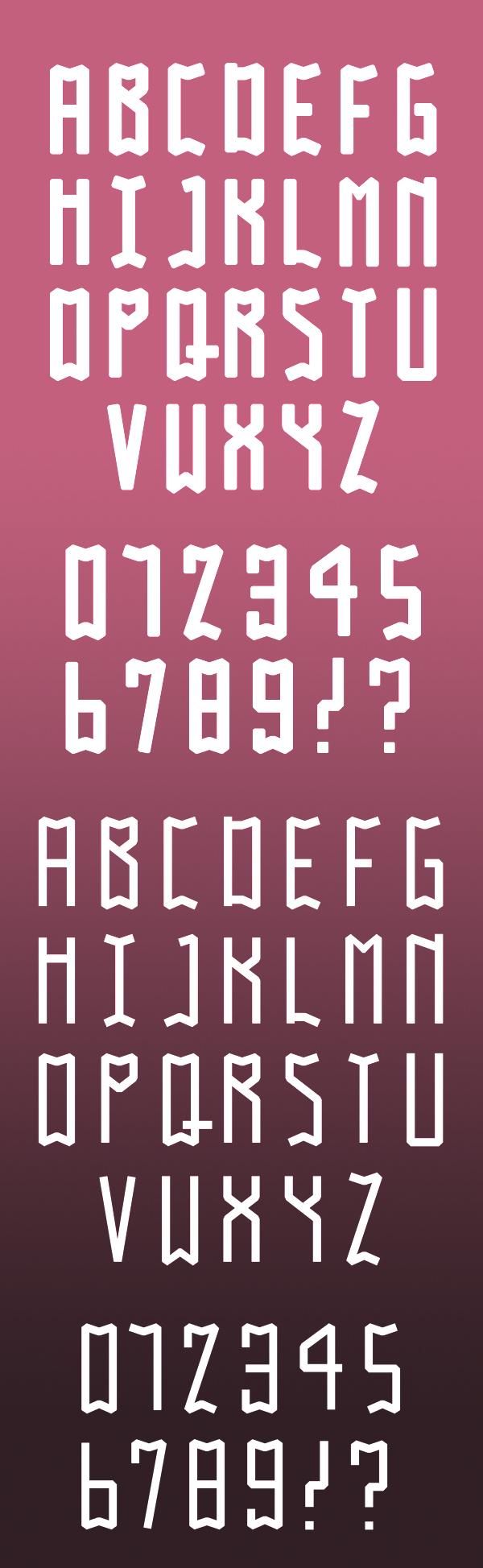 Gabo font letters | Free Fonts | Pinterest | Fonts, Free fonts for