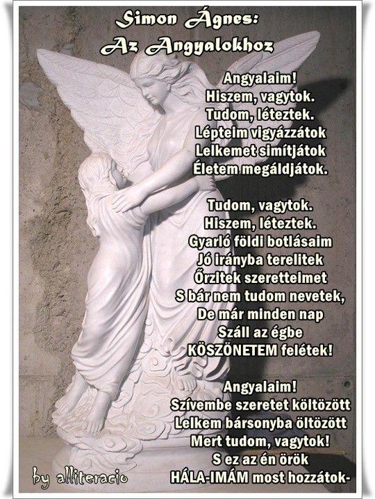 angyal versek idézetek ANGYALOK   képek, versek, idézetek | Angel messages, Angel