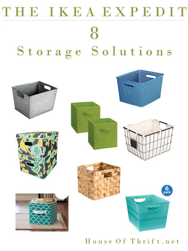 Storage Solutions For The Ikea Expedit | Toy Storage | Playroom Ideas |  House Of Thrift