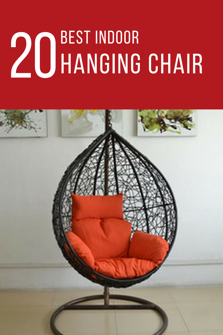 A whimsical hanging chair in natural rattan the garden swing