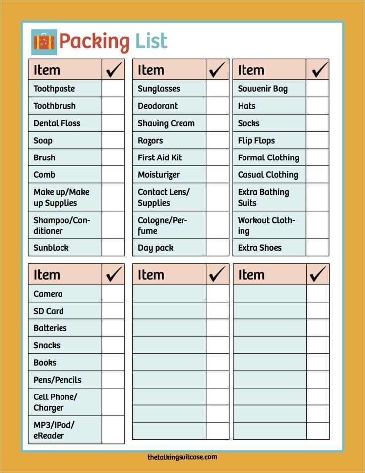 graphic regarding Printable Cruise Packing List identify No cost Printable Cruise Planner The Simplest Push Guidelines and