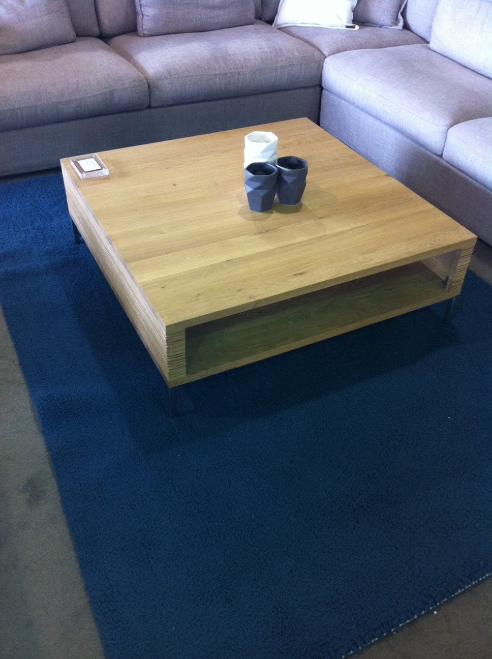 How to make a sofa table out of floor boards - Example Of Coffee Table But We D Make It Out Of Our Recycled Floorboards
