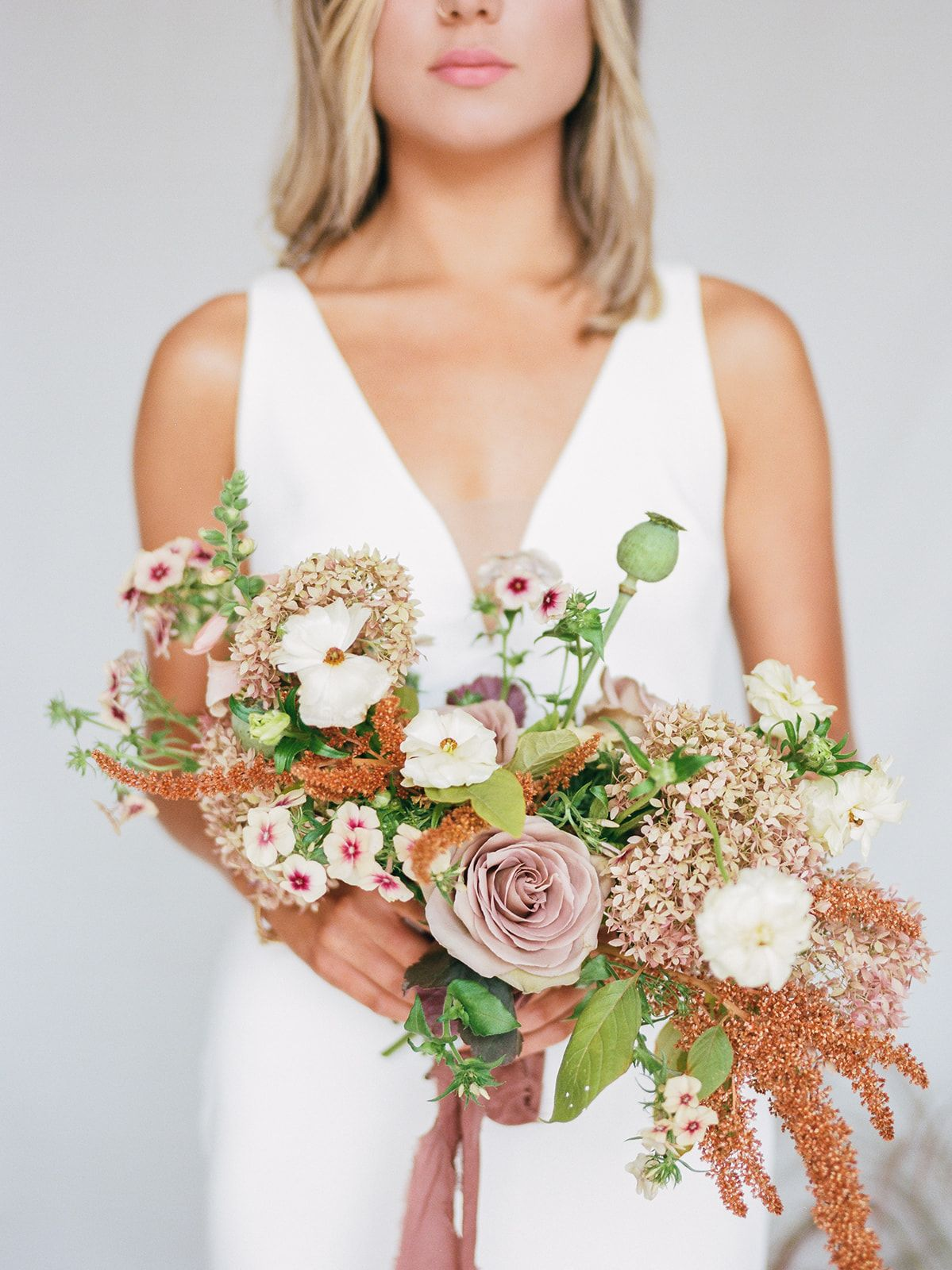 Summer Styled Shoot With Michelle Lange Dusty Rose Pronovias