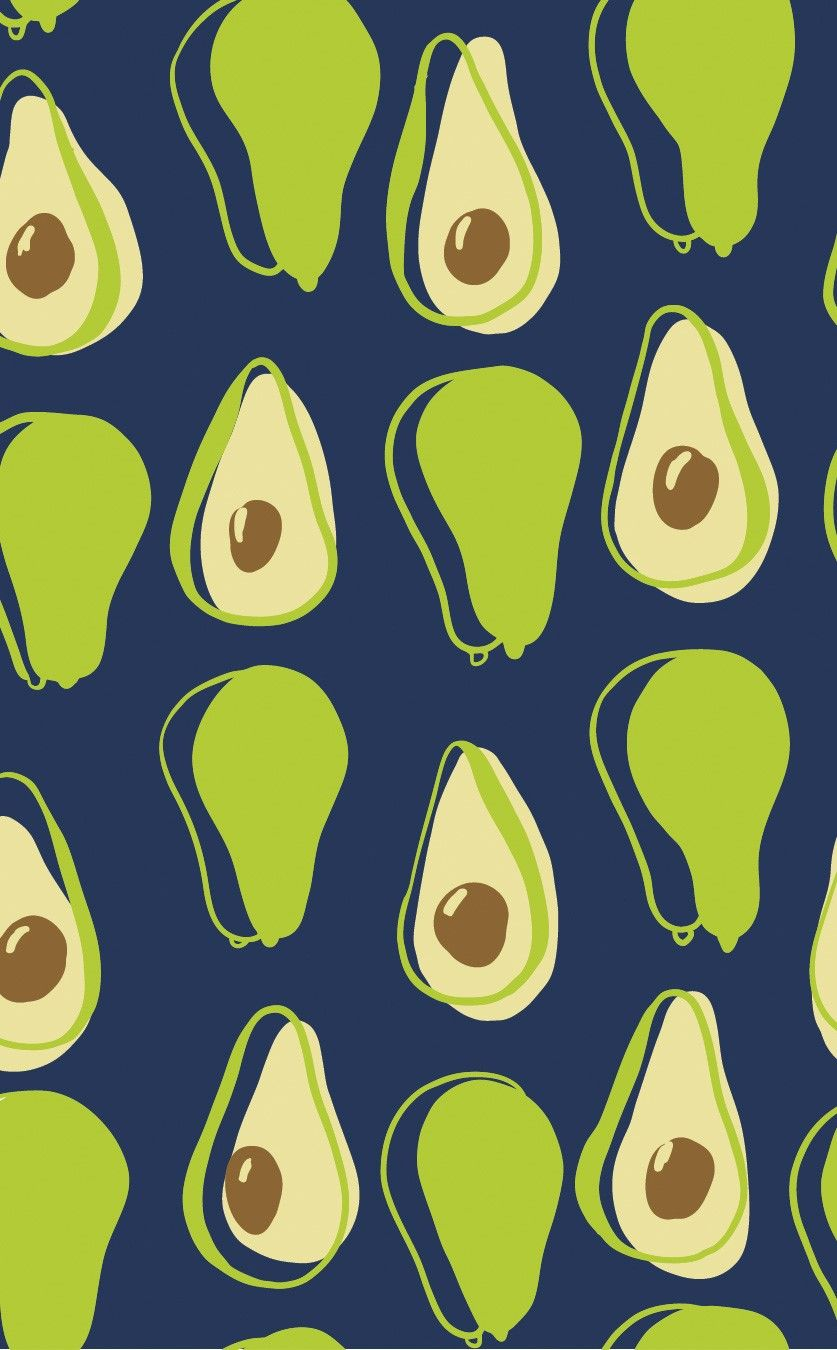 avocado wallpaper Cute wallpapers, Art wallpaper iphone