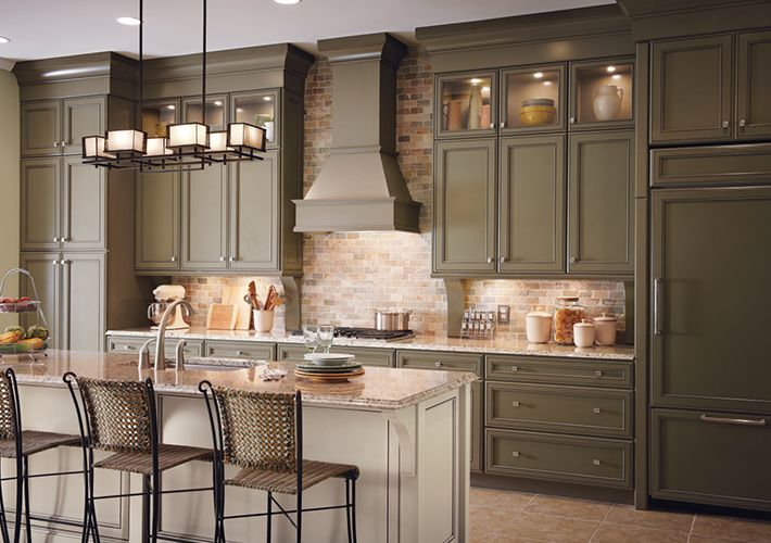 Kitchen Inspiration Gallery | Home Depot Canada ~nice colour ...