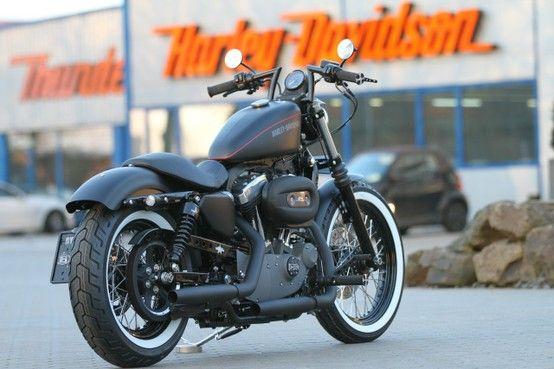 Customized Harley-Davidson Nightster (Sportster XL1200 N) by #Thunderbike