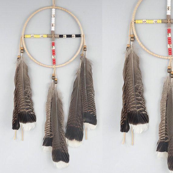 Native American Wall Hangings large medicine wheel, native american style wall art, native style