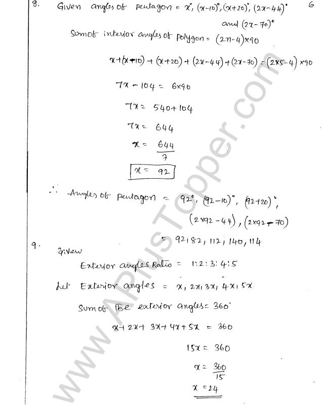 Icse 5th Standard Maths Book