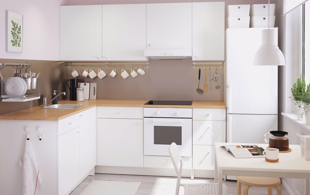 Ikea Kueche Knoxhult Weiss   Home Decor