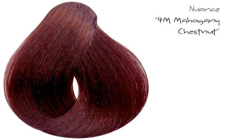 "La nuance ""4M Mahogany Chestnut"""