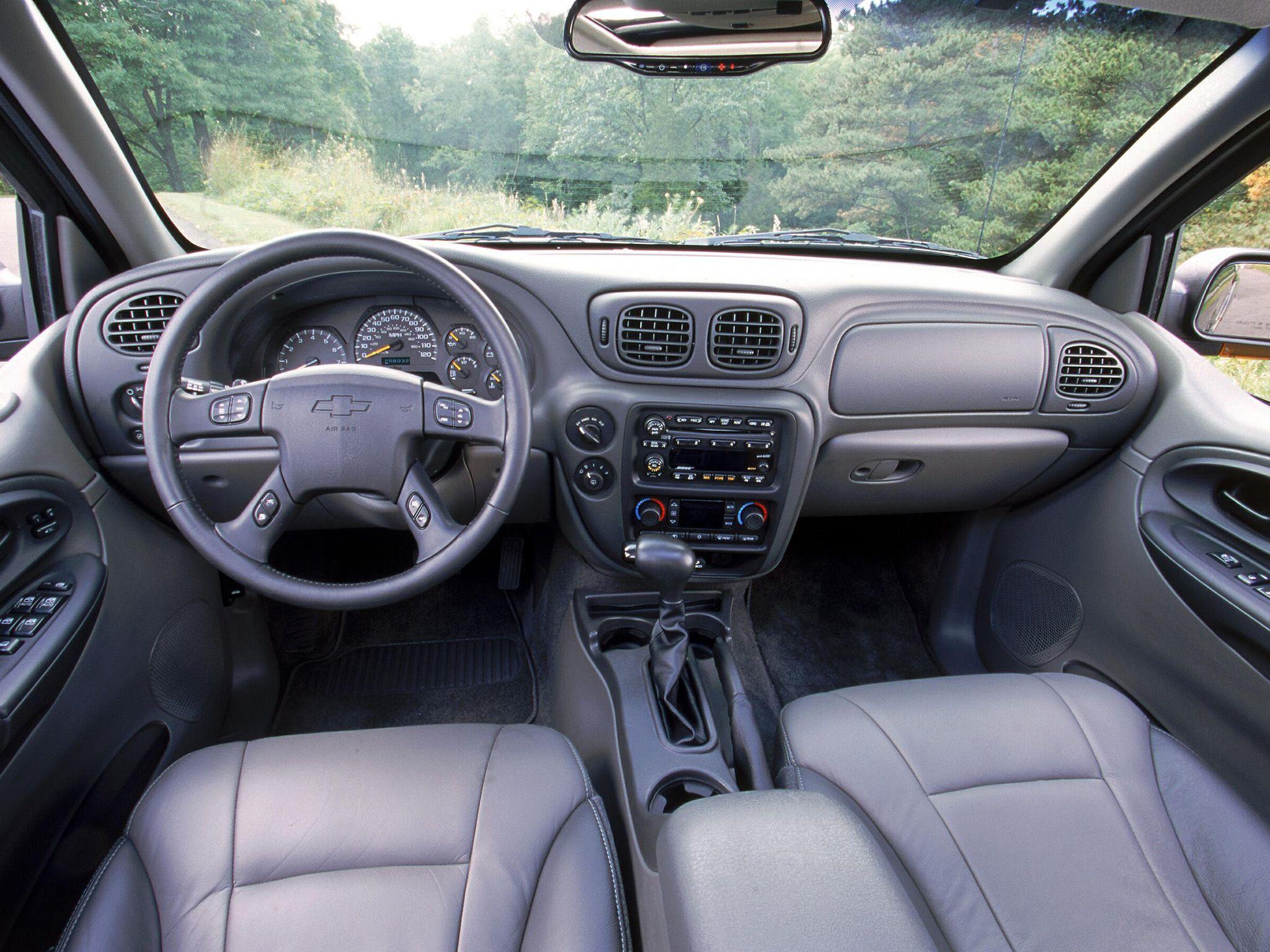 2003 Chevrolet Trailblazer Interior And Dashboard Pinterest Chevrolet Trailblazer