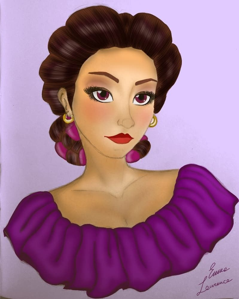"emmalaurenceart: """"Altanera, preciosa y orgullosa no permite la ..."