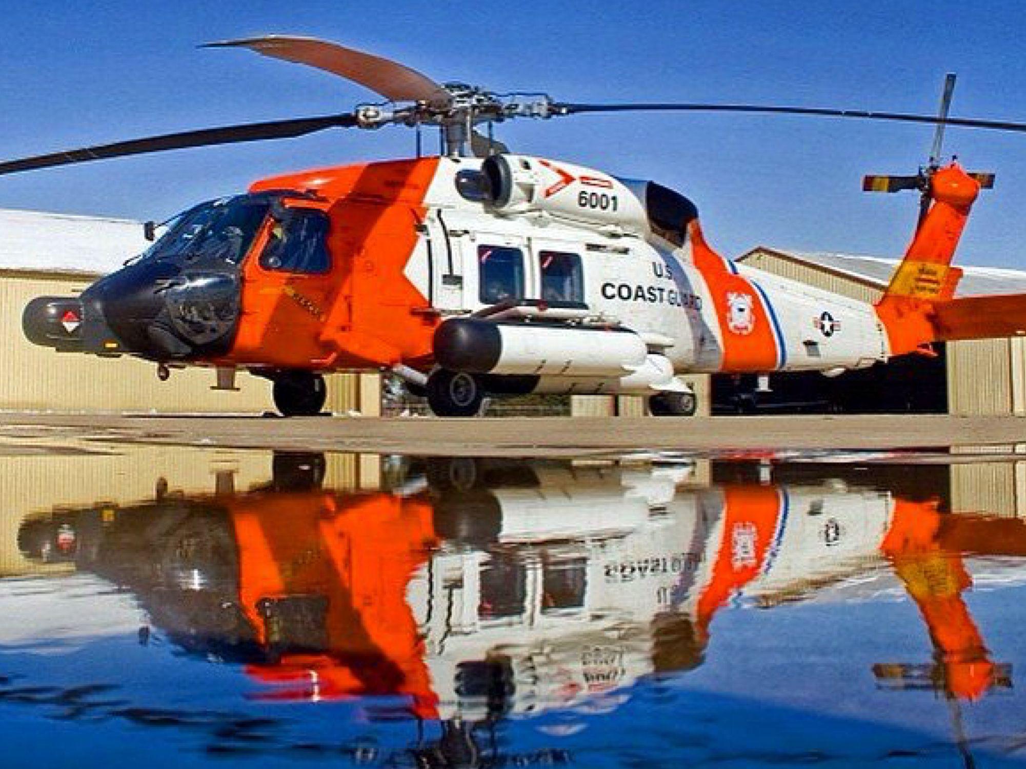 U S Coast Guard 6001 MH-60T Thunderhawk   Coast Guard/Rescue