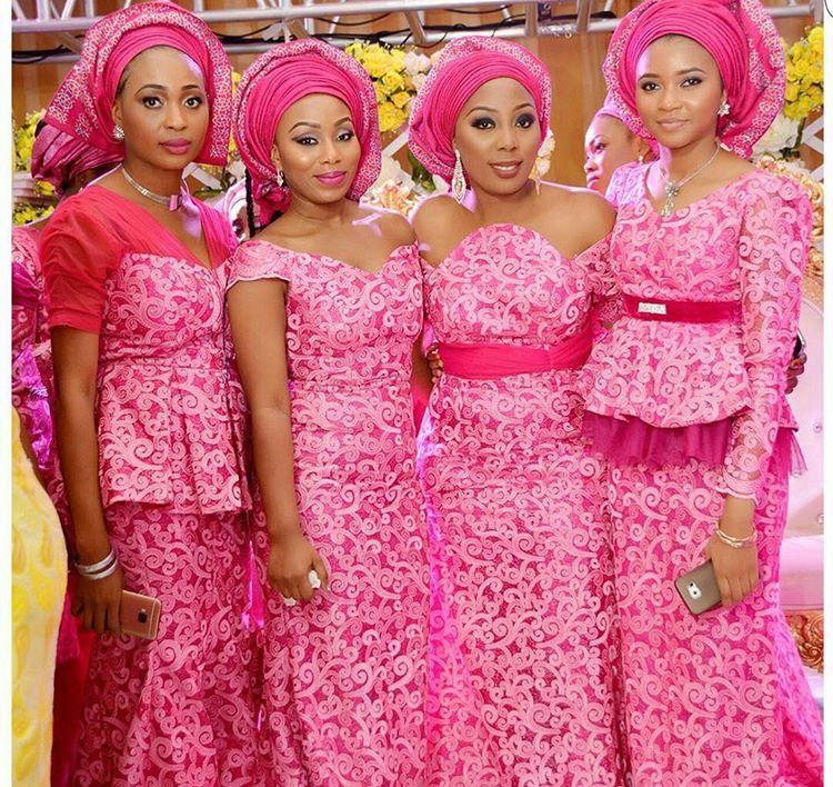 Wedding Dress - Ado Ebi - West African Style | Aso Ebi - African ...