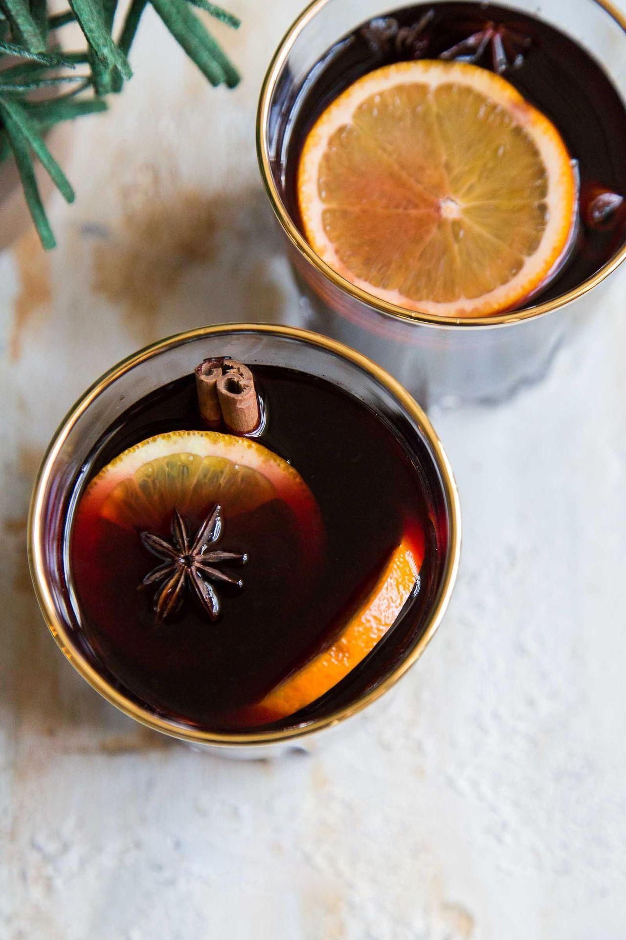 Orange Vanilla Mulled Wine (mit Bildern) Winter