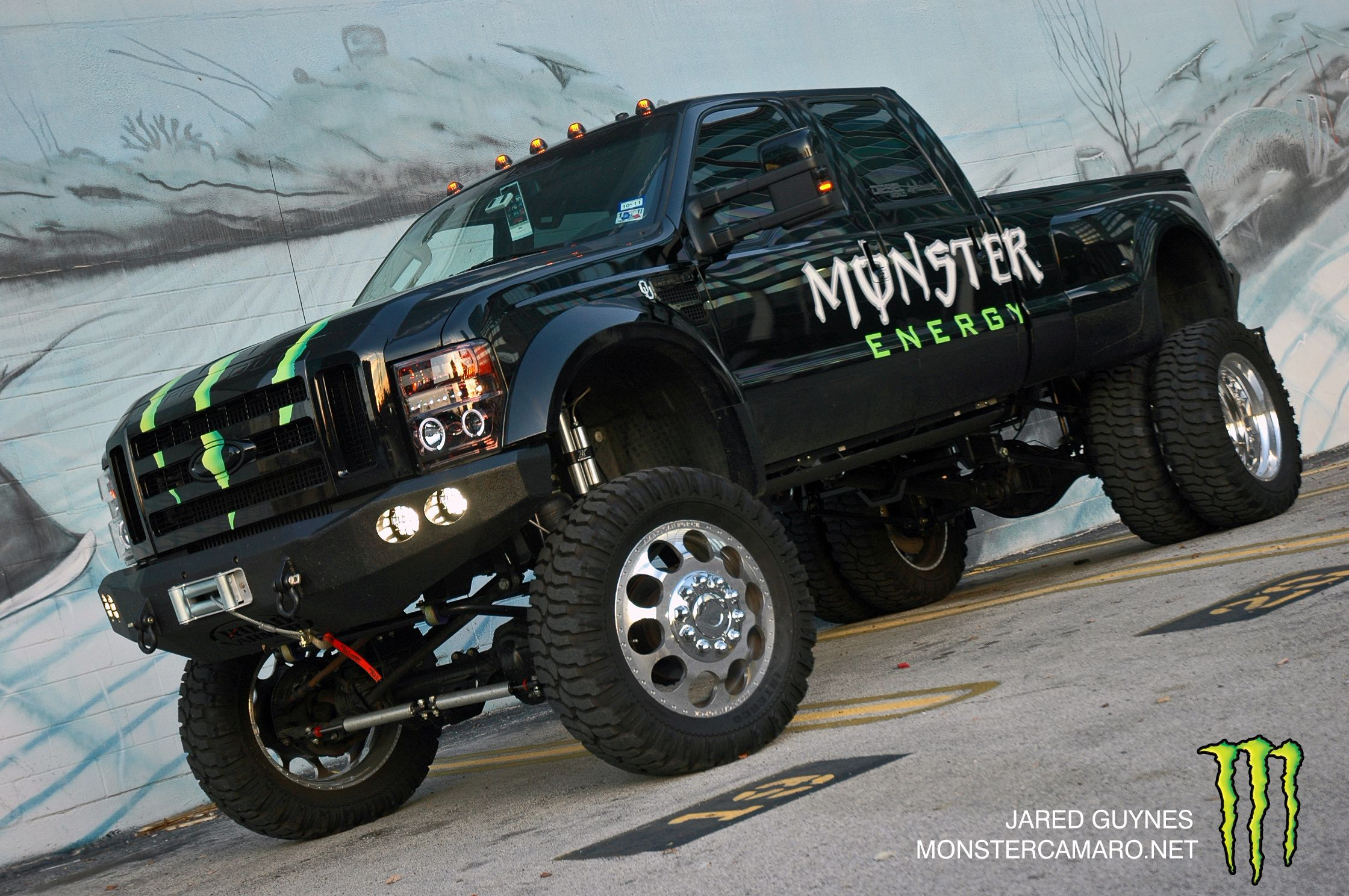 Trucks monster camaro monster f 450 wallpapers - Lifted ford trucks wallpapers ...