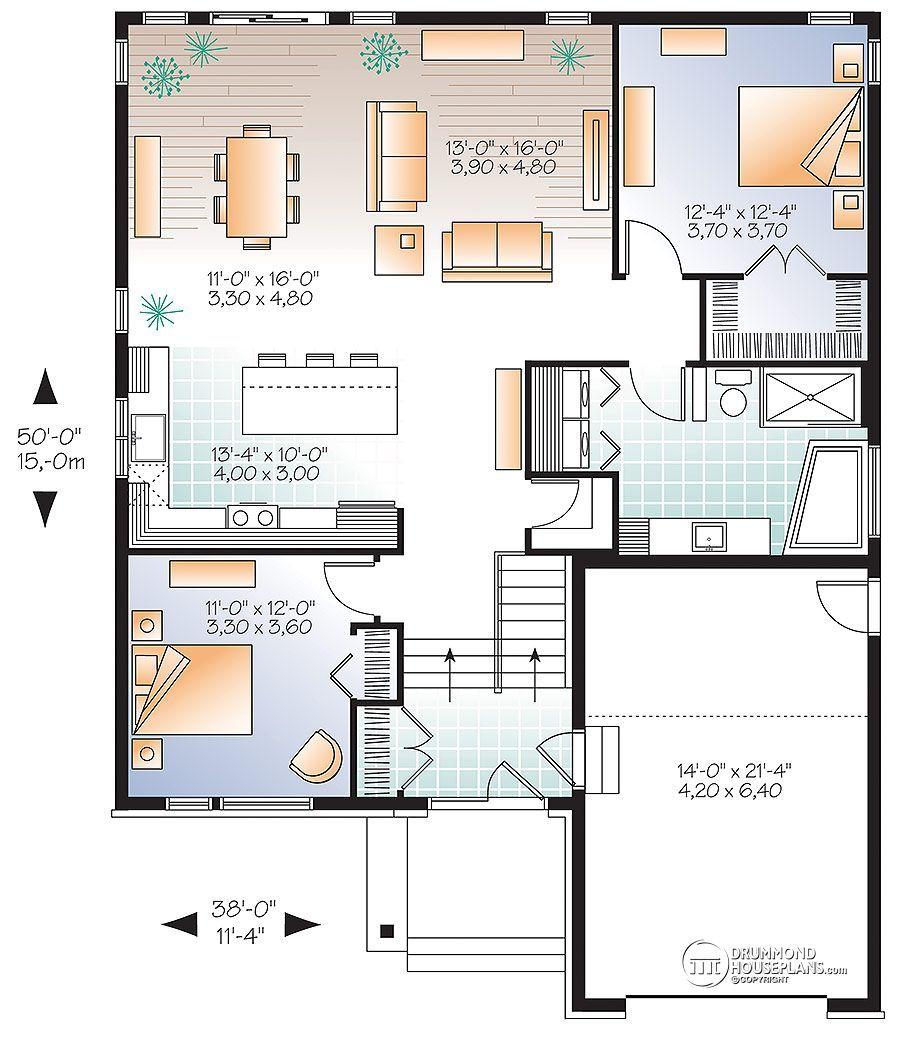 resultado de imagen de casas 1 planta diseños | casa una planta