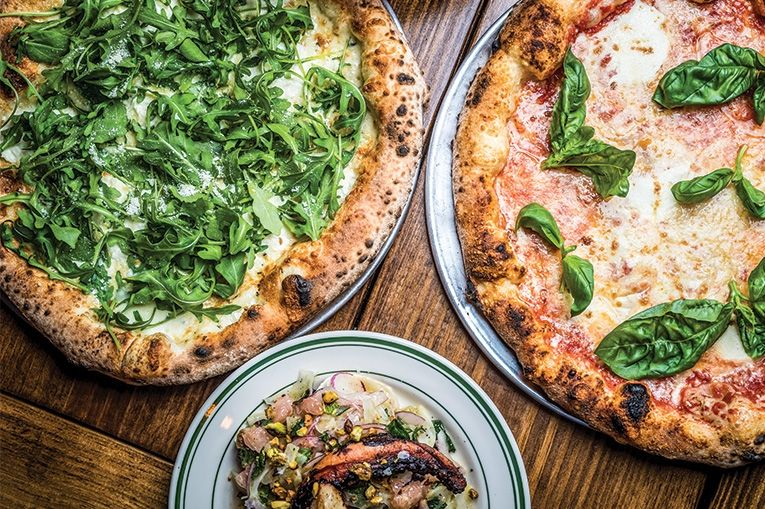pizza magnet bruno zacchini can usually be found stationed in the