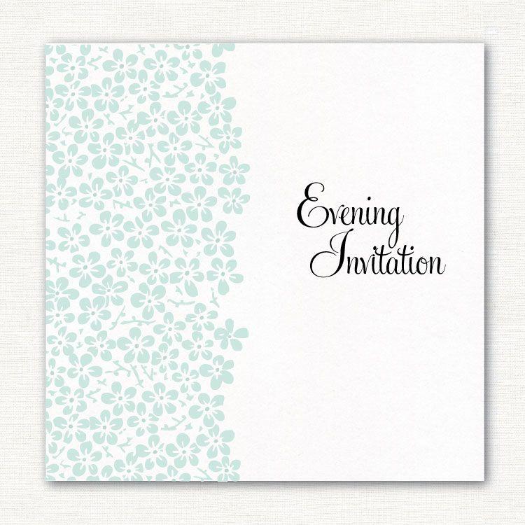Bloom Pearlescent Evening Invitation http ...