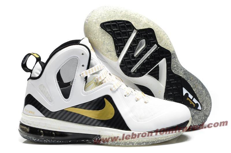 brand new ba853 ed5b8 Hot Nike Lebron 9 P.S. Elite White Gold
