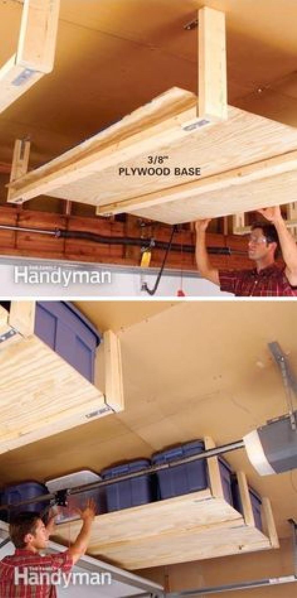 20 brillantes astuces de rangement pour un garage. Black Bedroom Furniture Sets. Home Design Ideas