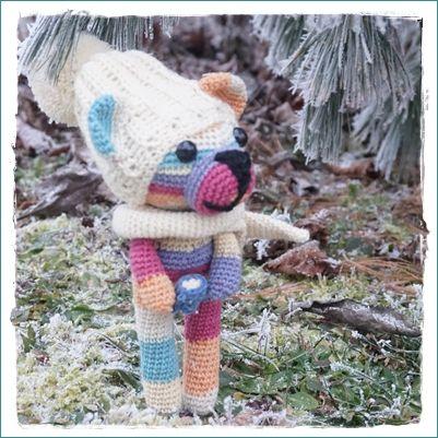Amigurumi Bär mit Mütze häkeln - Anleitung kostenlos - bear ...