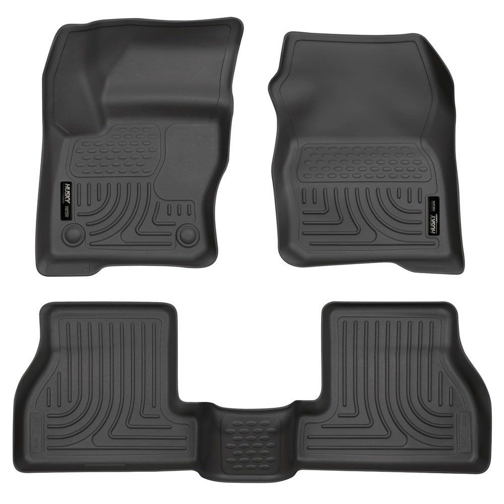 Husky Liners Front And Rear Floor Liner WeatherBeater
