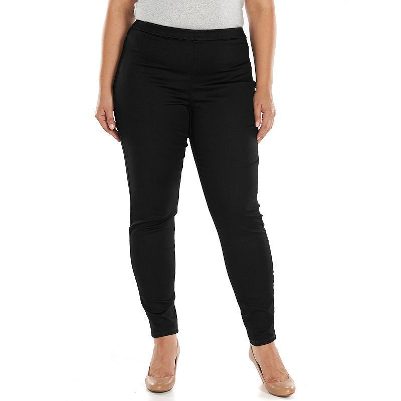 63898c280a4 Plus Size Jennifer Lopez Skinny Jeggings