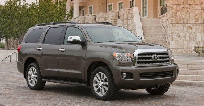 Toyota Suv Names >> 2017 Toyota Sequoia Strength In More Than Just The Name