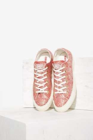 a01151f1abb5fa Converse Chuck Taylor All Star Irisdescent Leather Sneaker