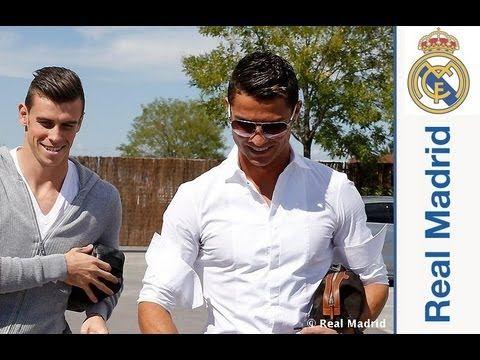 Bale llega a la Ciudad Real Madrid
