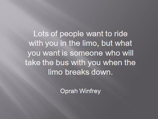 Oprah Quotes About Friendship Best How To Know Your Real Friends  Oprah Oprah Winfrey And