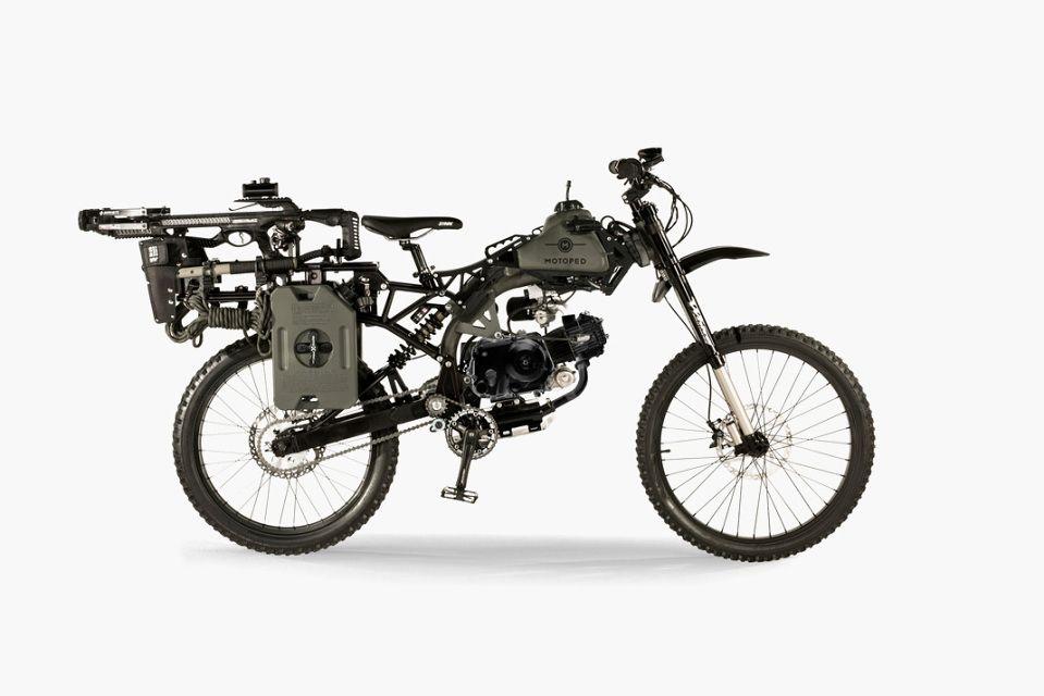 Motoped Survival Bike Black Ops Edition Highsnobiety Bike Black Ops Survival