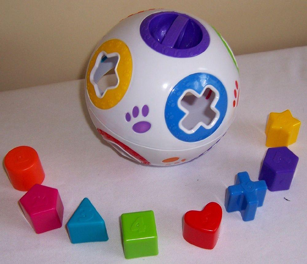 Garanimals Classic Shape Sorter Ball Shapes Educational Colors
