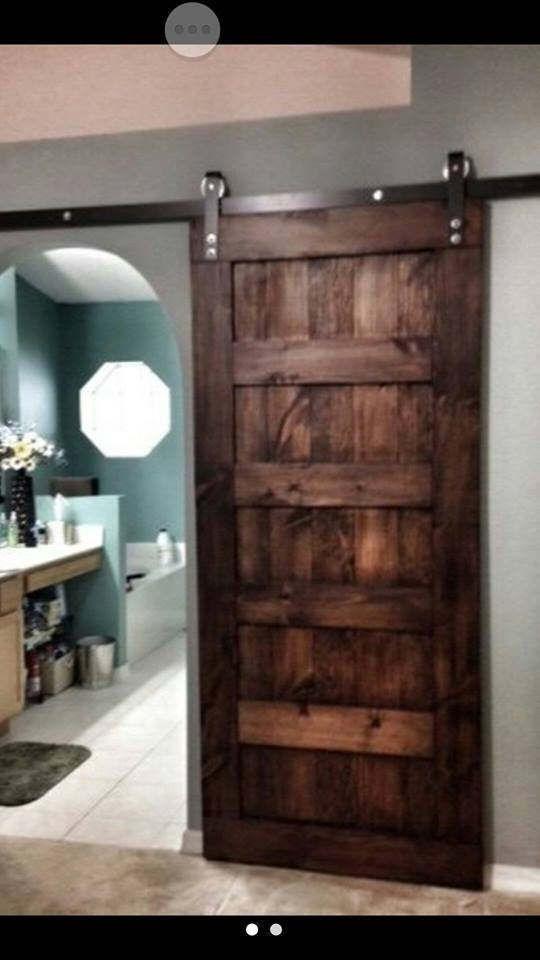 Handmade 5 Panel Sliding Barn Door