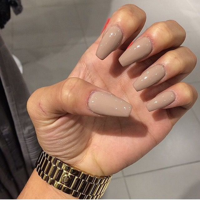 Pinterest Typicalbieber Tan Nails Long Nails Beautiful Nails