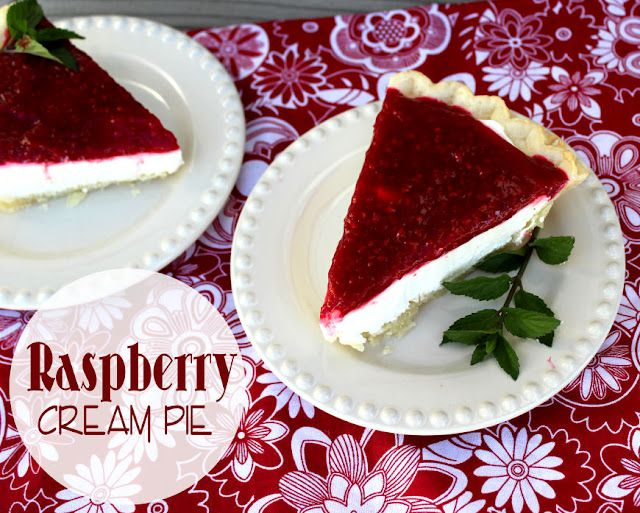 Jamie Cooks It Up!: Raspberry Cream Pie