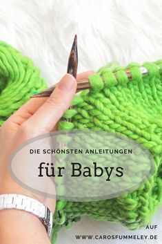 Die schönsten Anleitungen zum Stricken und Häkeln für Babys #freebabycrochetpatterns
