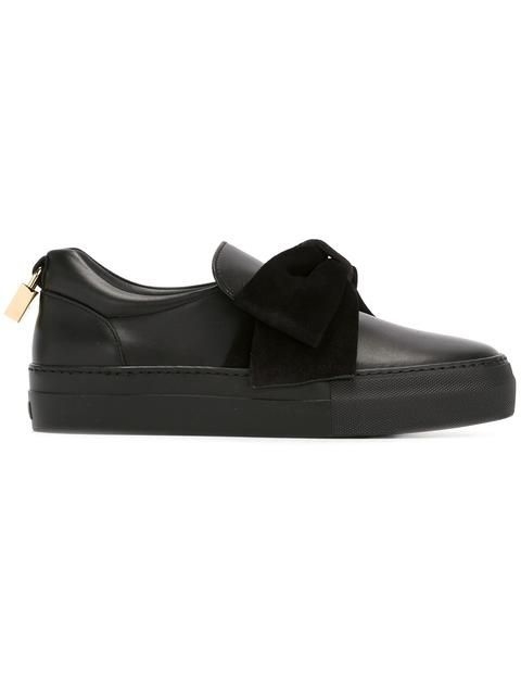 bow detail sneakers - Black Buscemi T7zbXOE