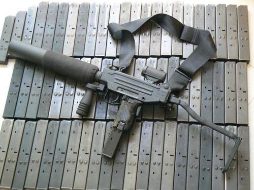 Suppressed Micro-UZI