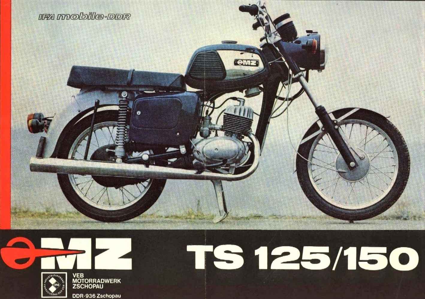 Mz Ts 125 150 Cool Cars Motorcycle Moped